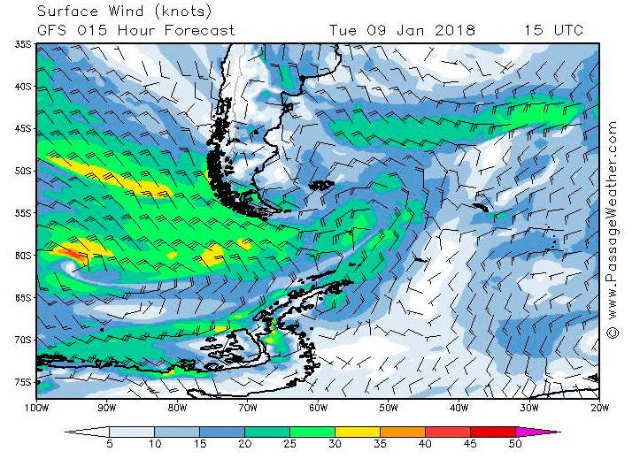 2018-01-09 weather - surface wind