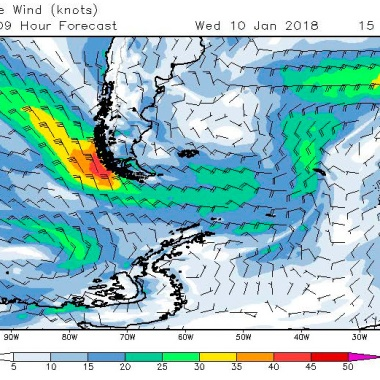 2018-01-10 weather - surface wind