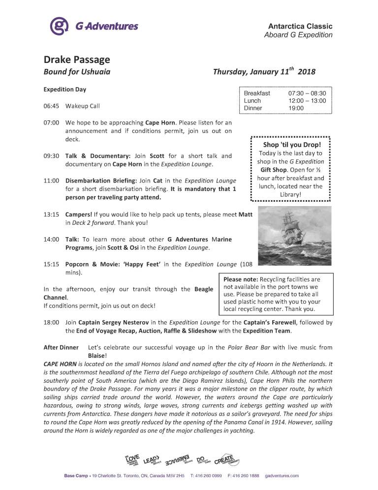2018-01-11 Daily Program