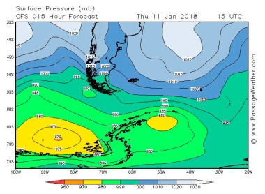 2018-01-11 weather - surface pressure