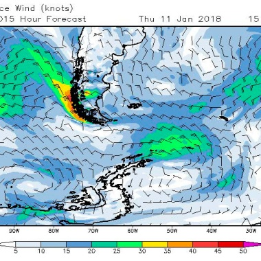 2018-01-11 weather - surface wind
