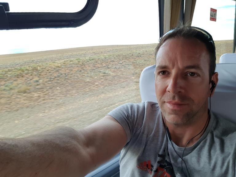 Stefan im bus